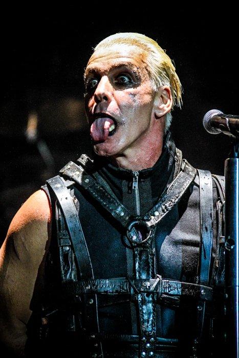 Till Lindemann Rammstein Barcelona 2013