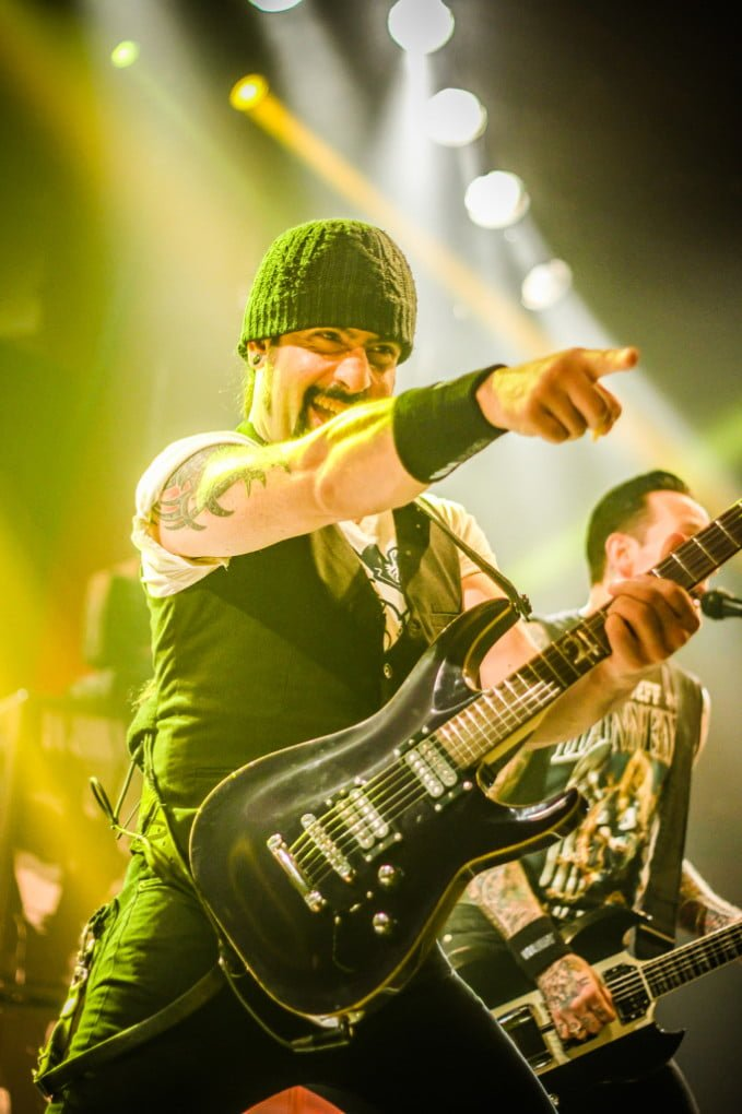 Volbeat Barcelona 2013