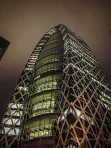 Otro edificio impactante en la zona de Shinjuku.