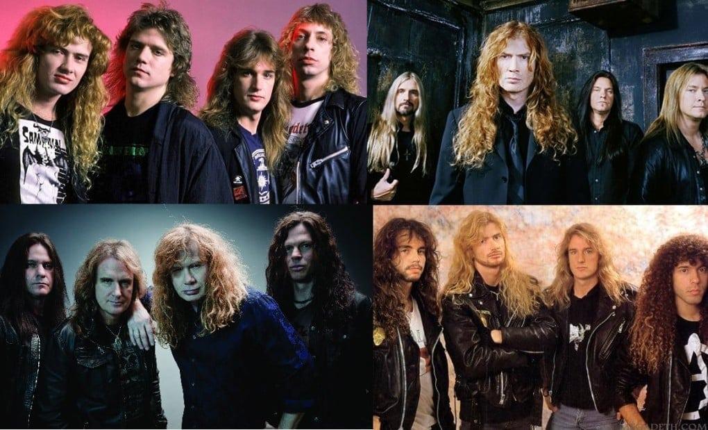 Megadeth formaciones