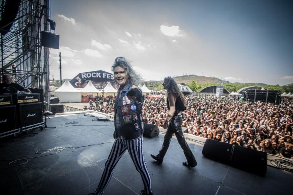 Grave Digger Rock Fest Barcelona 2016