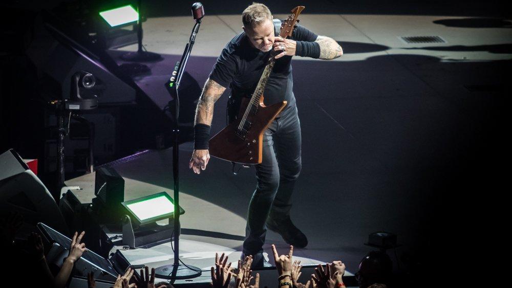 James Hetfield Metallica Barcelona