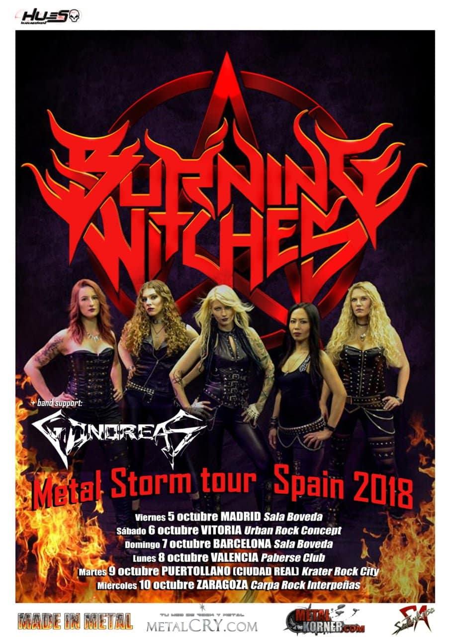 Burning Witches España 2018