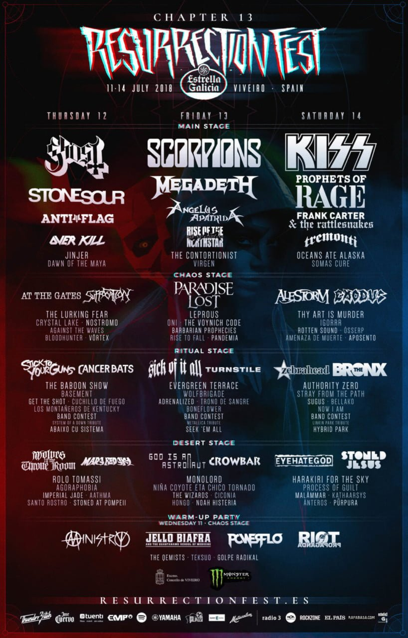 Cartel Resurrection Fest 2018