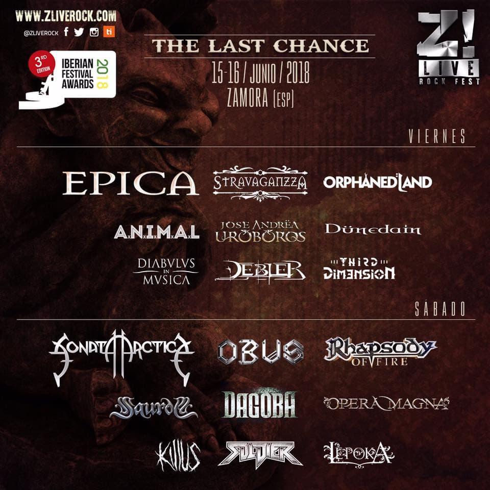 Cartel Z! Live Rock Fest 2018