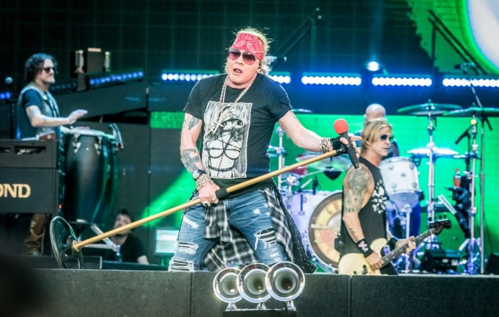 Guns N' Roses Download Festival Madrid 2018