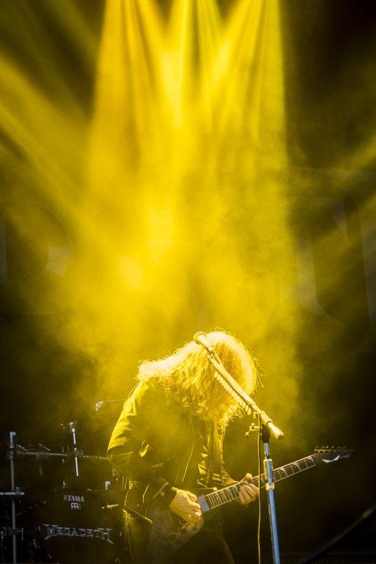 Dave Mustaine Megadeth Nova Rock 2018
