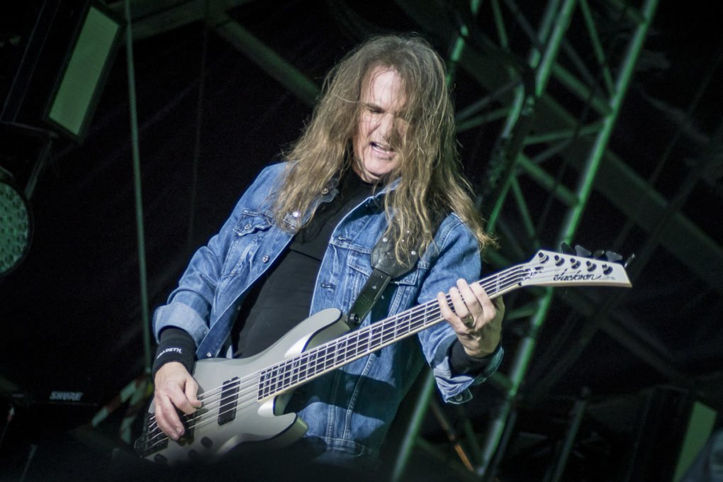 David Ellefson Megadeth Nova Rock 2018