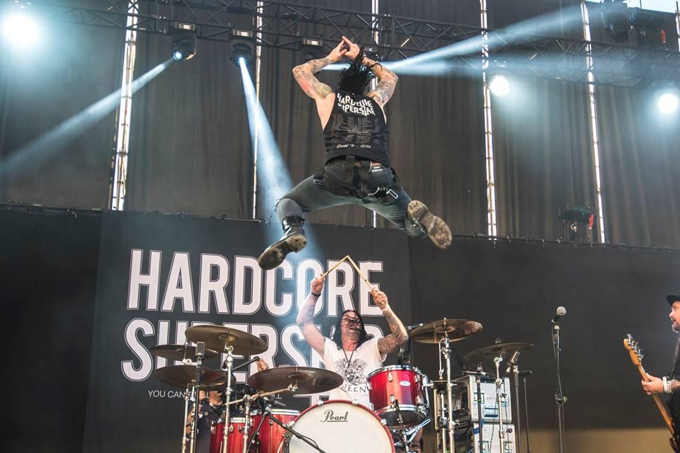 Hardcore Superstar Garage Sound Festival