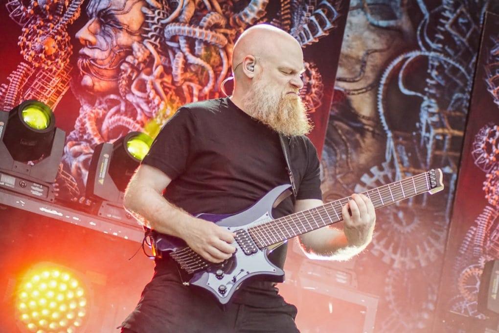 Meshuggah Nova Rock 2018