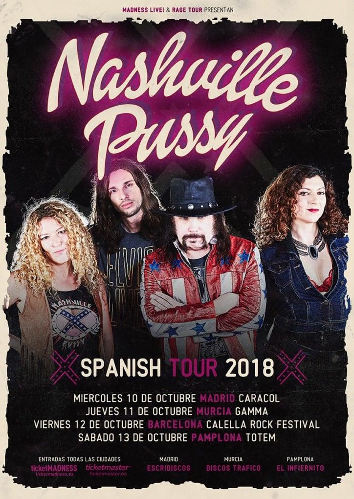 Nashville Pussy España 2018