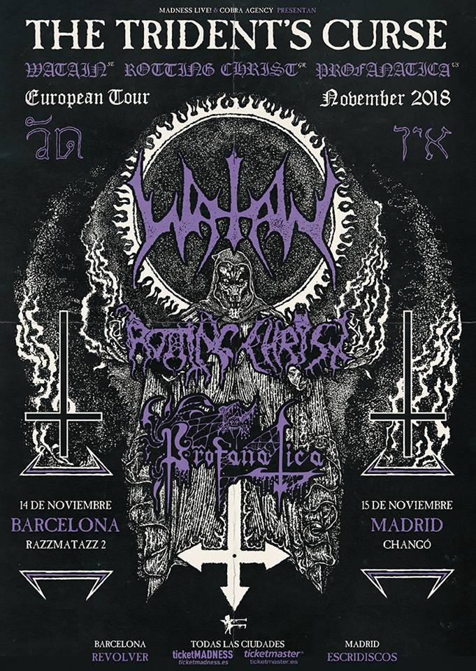 Watain España 2018