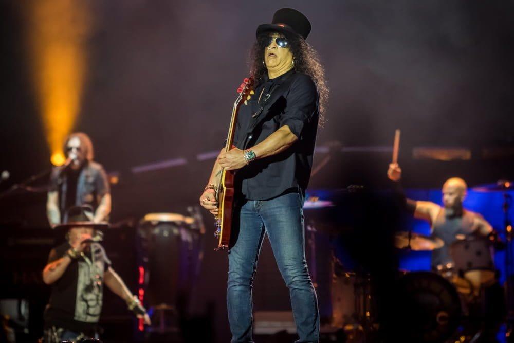 Slash Guns N' Roses Barcelona