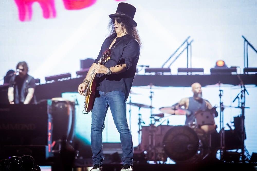 Slash Barcelona Guns N' Roses