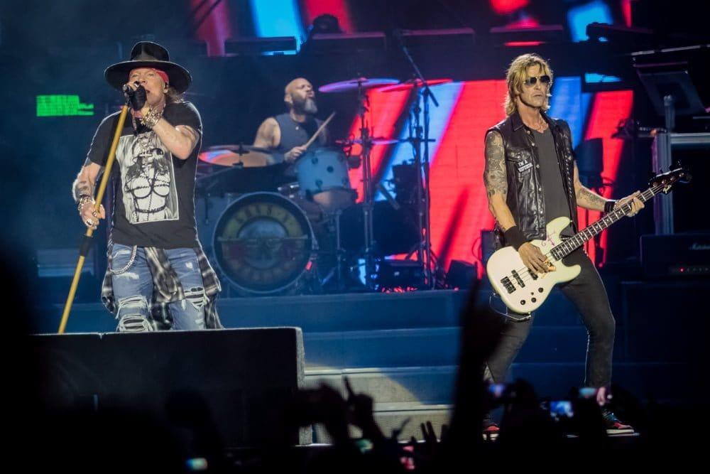 Axl Rose Guns N' Roses Barcelona