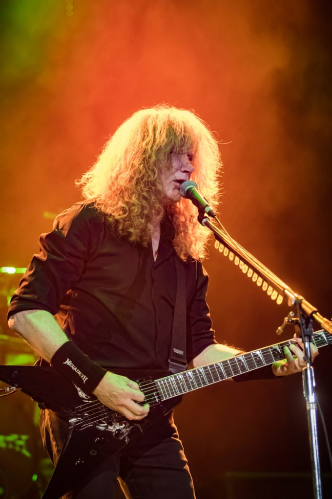 Megadeth Madrid 2018