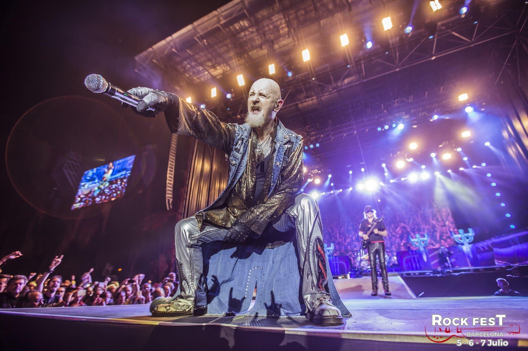 Judas Priest Rock Fest Barcelona