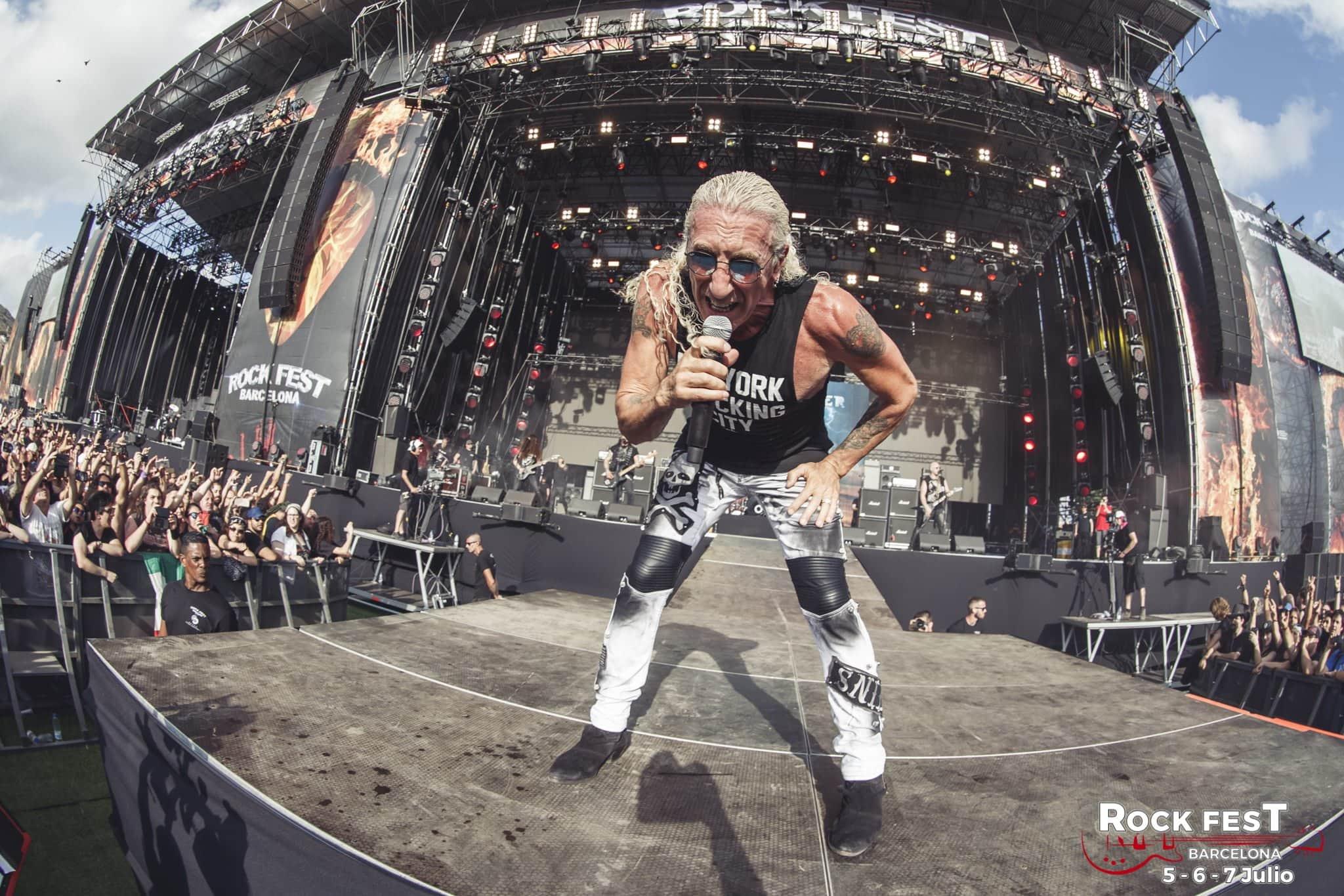 Dee Snider Rock Fest Barcelona 2018