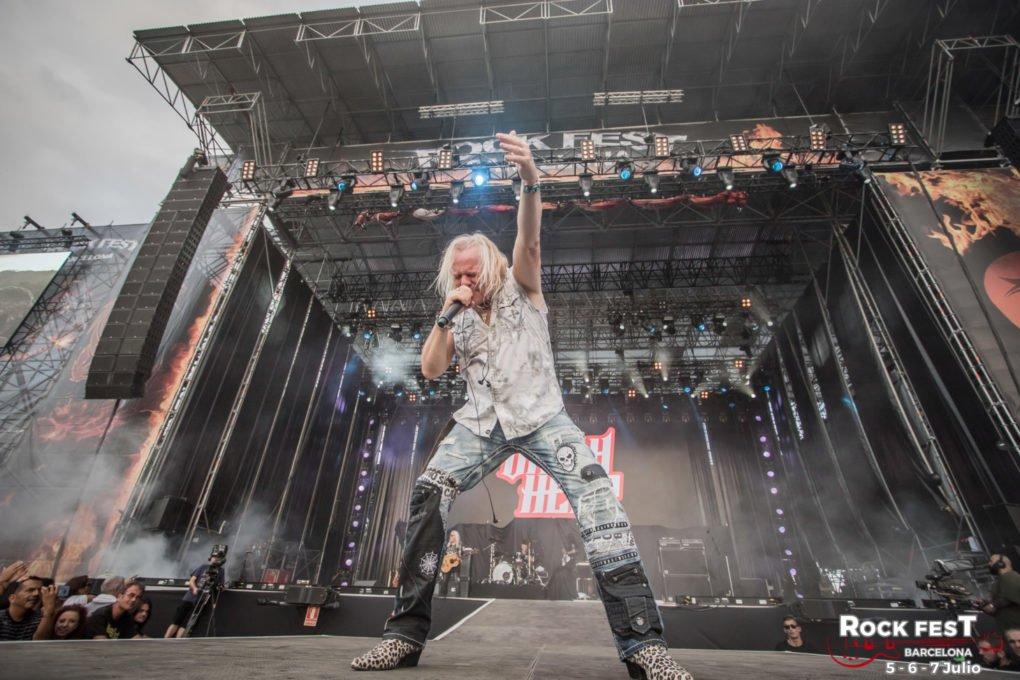 Uriah Heep Rock Fest Barcelona 2018