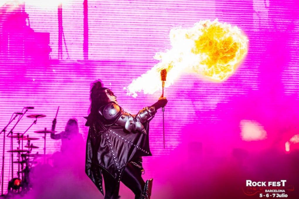 Kiss Rock Fest bcn 2018
