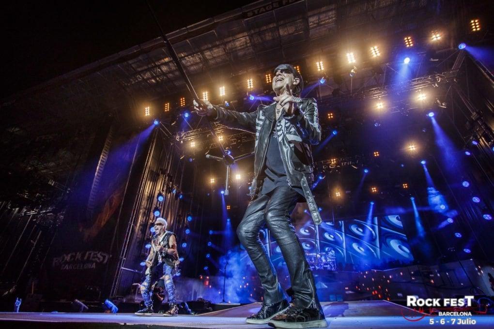 Scorpions Rock Fest Barcelona 2018