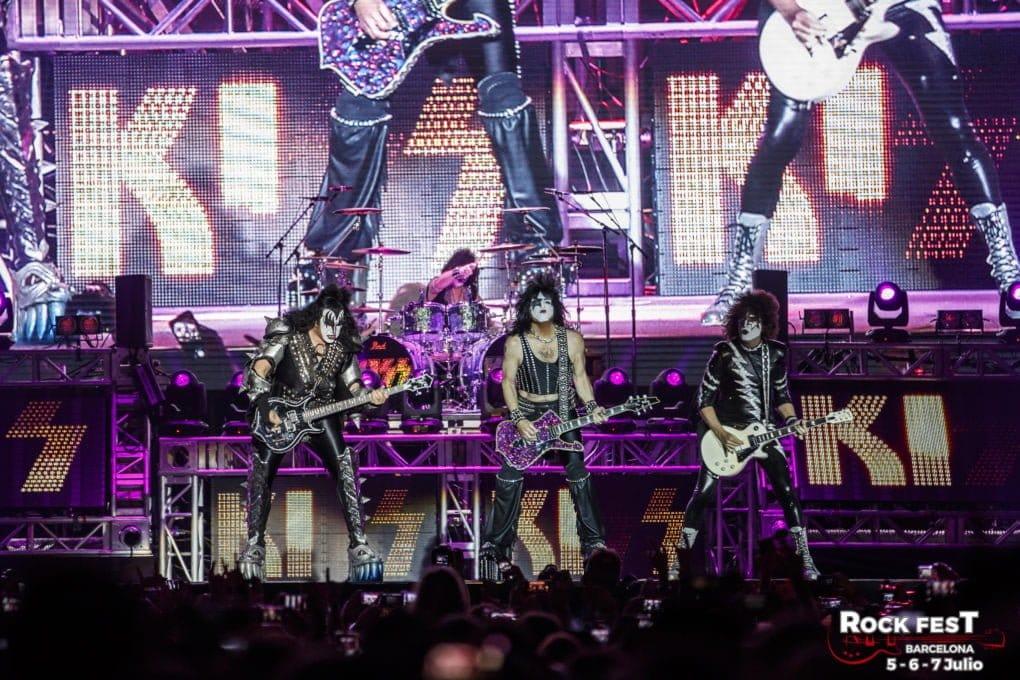 Kiss Rock Fest Barcelona 2018