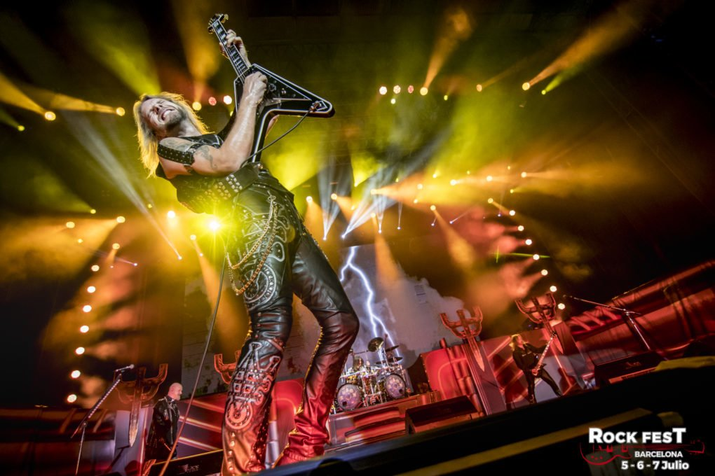 Judas Priest Rock Fest Barcelona 2018