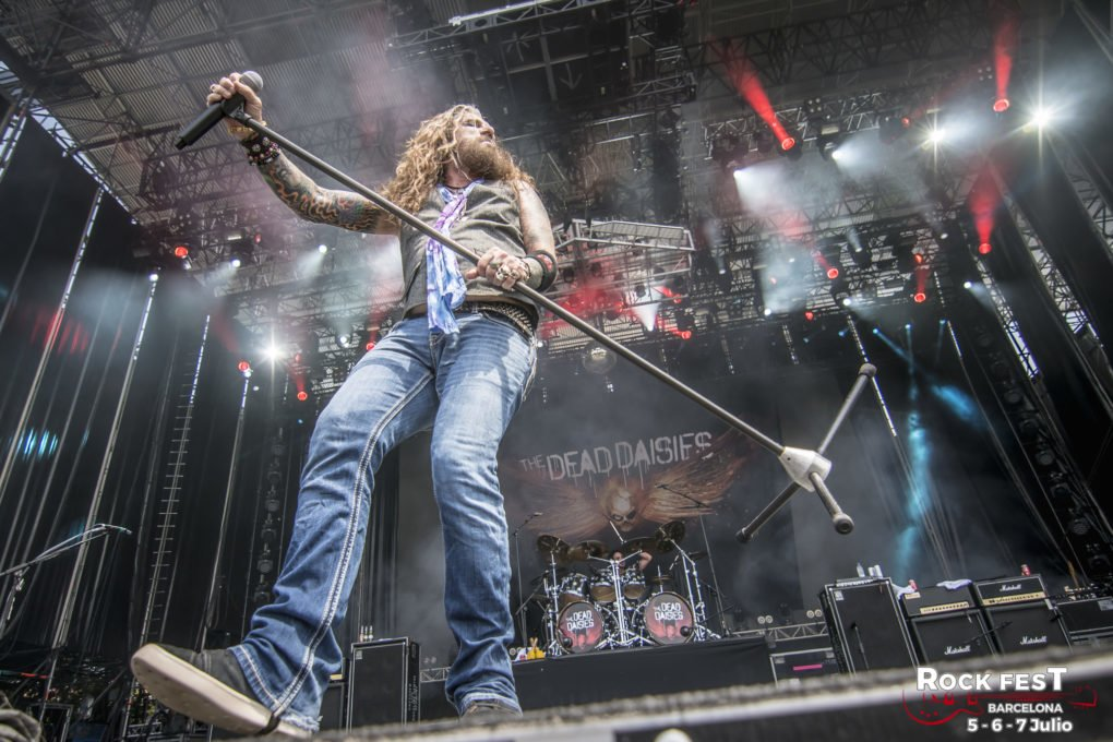 The Dead Daisies Rock Fest Barcelona 2018