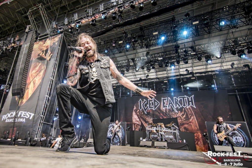 Iced Earth Rock Fest Barcelona 2018