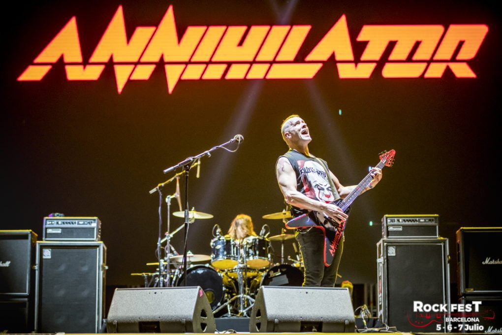Annihilator Rock Fest Bcn 2018