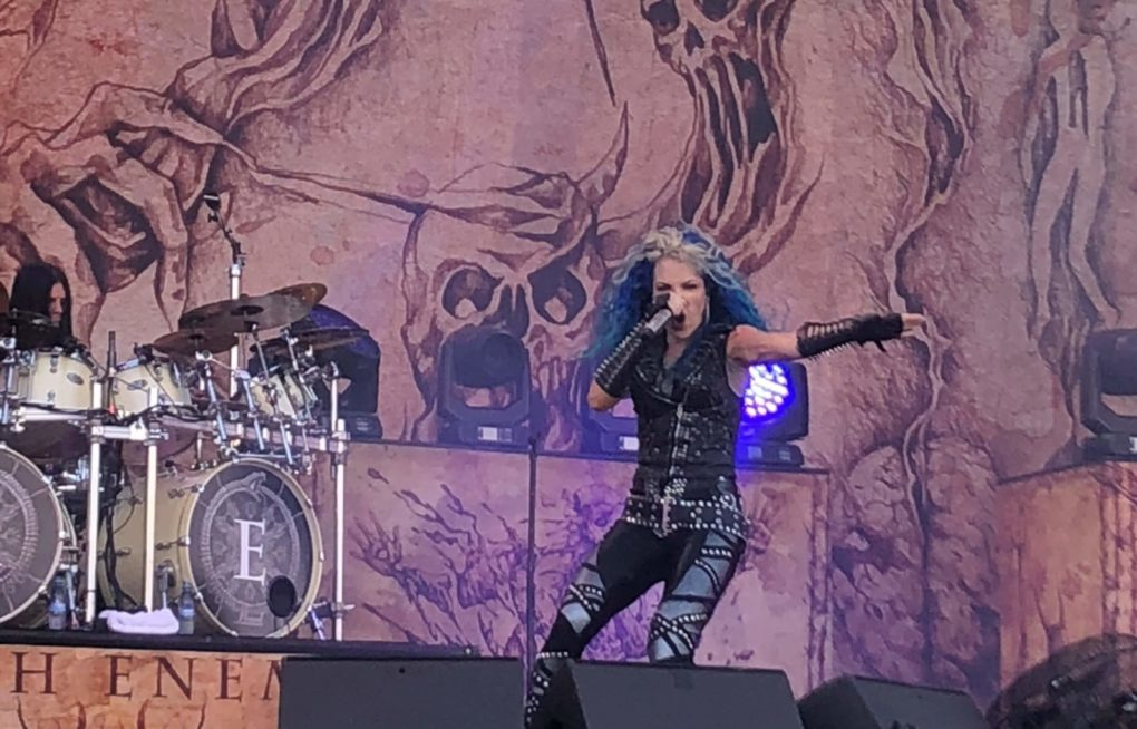 Arch Enemy Nova Rock 2018 fan