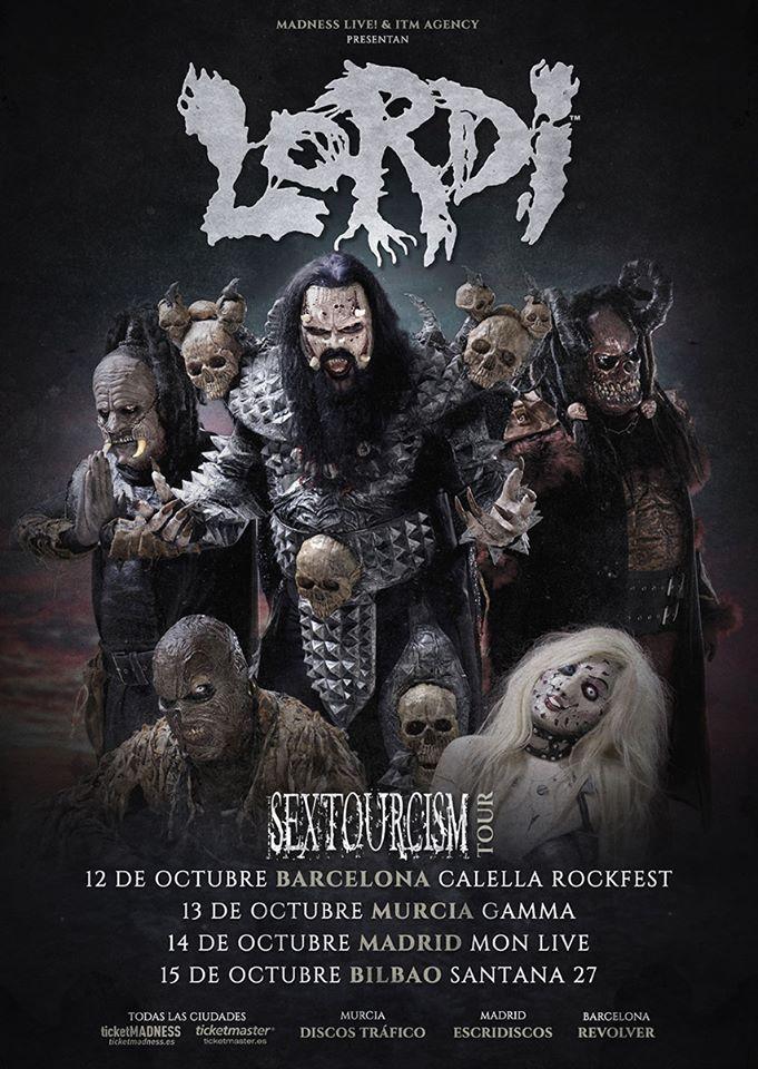 Lordi España 2018