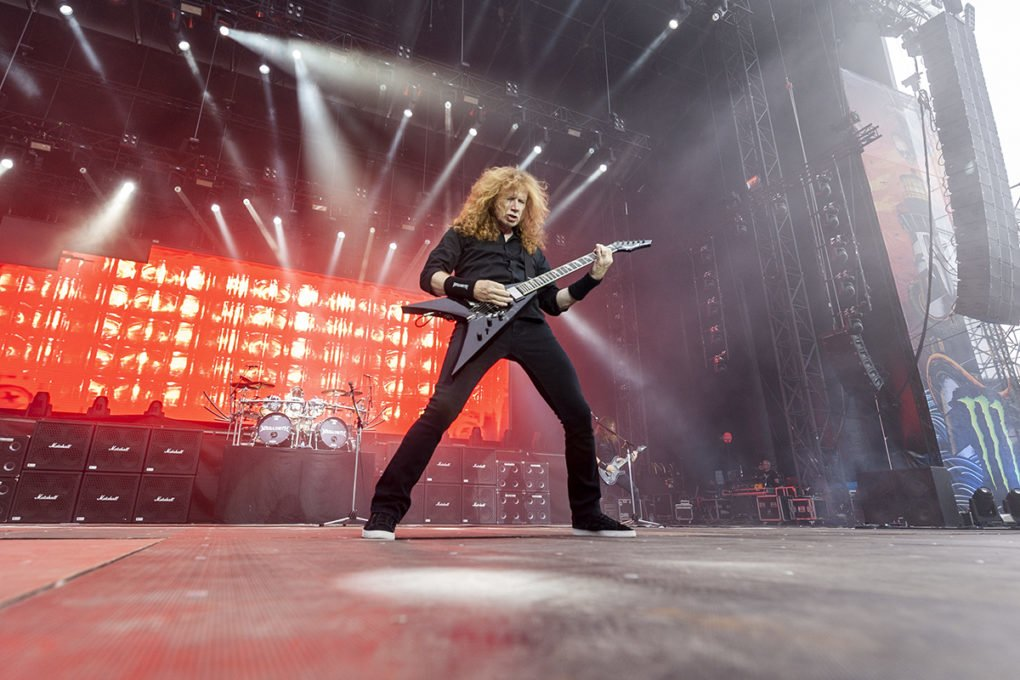Dave Mustaine Megadeth Resurrection Fest 2018