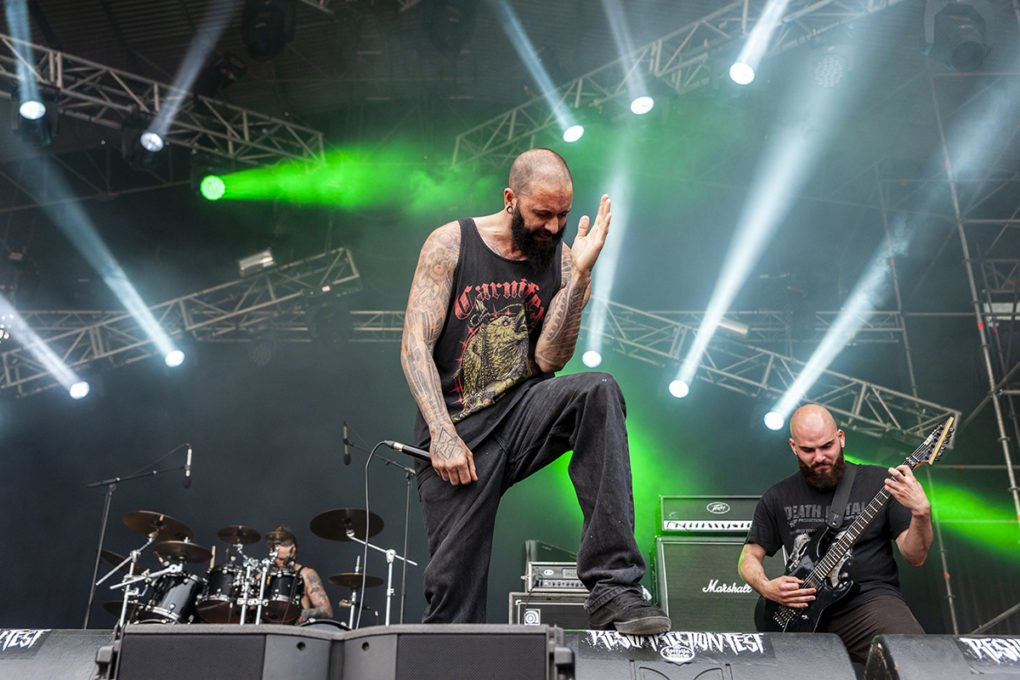 Suffocation Resurrection Fest 2018