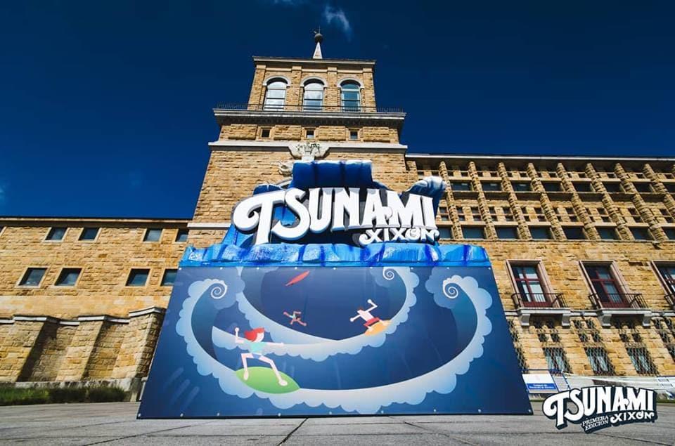 Ayuntamiento Gijón Tsunami Xixón