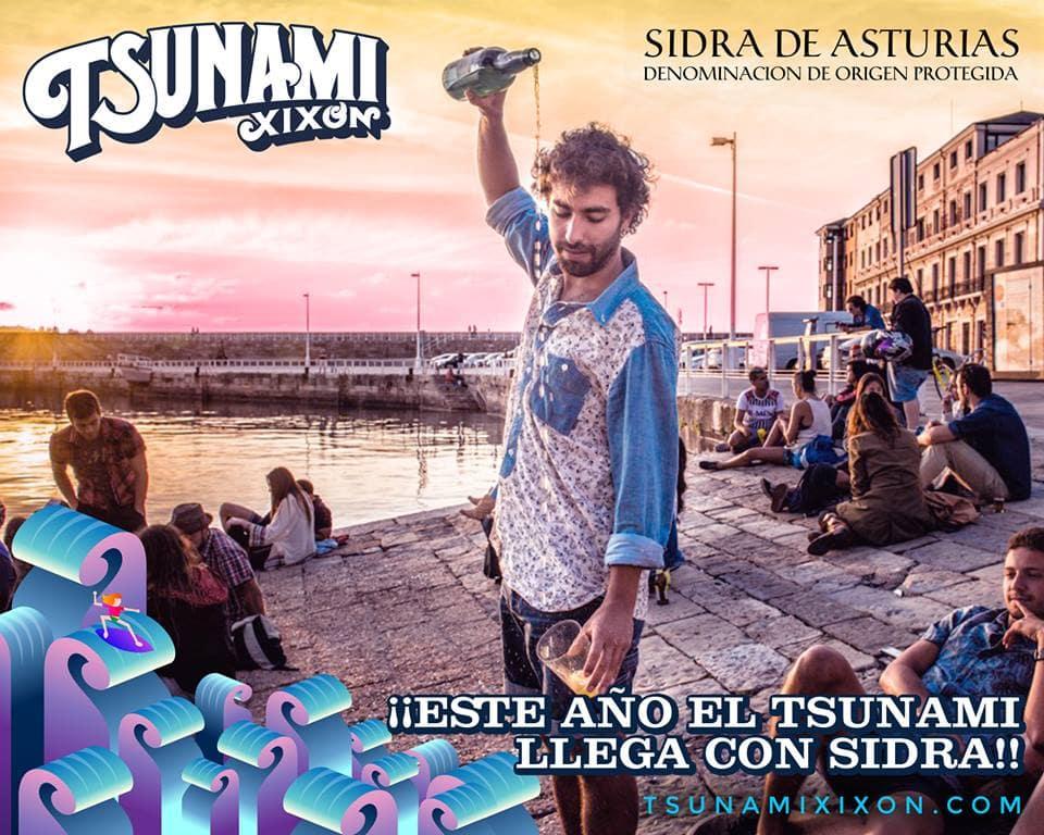 Sidra Tsunami Xixón 2018