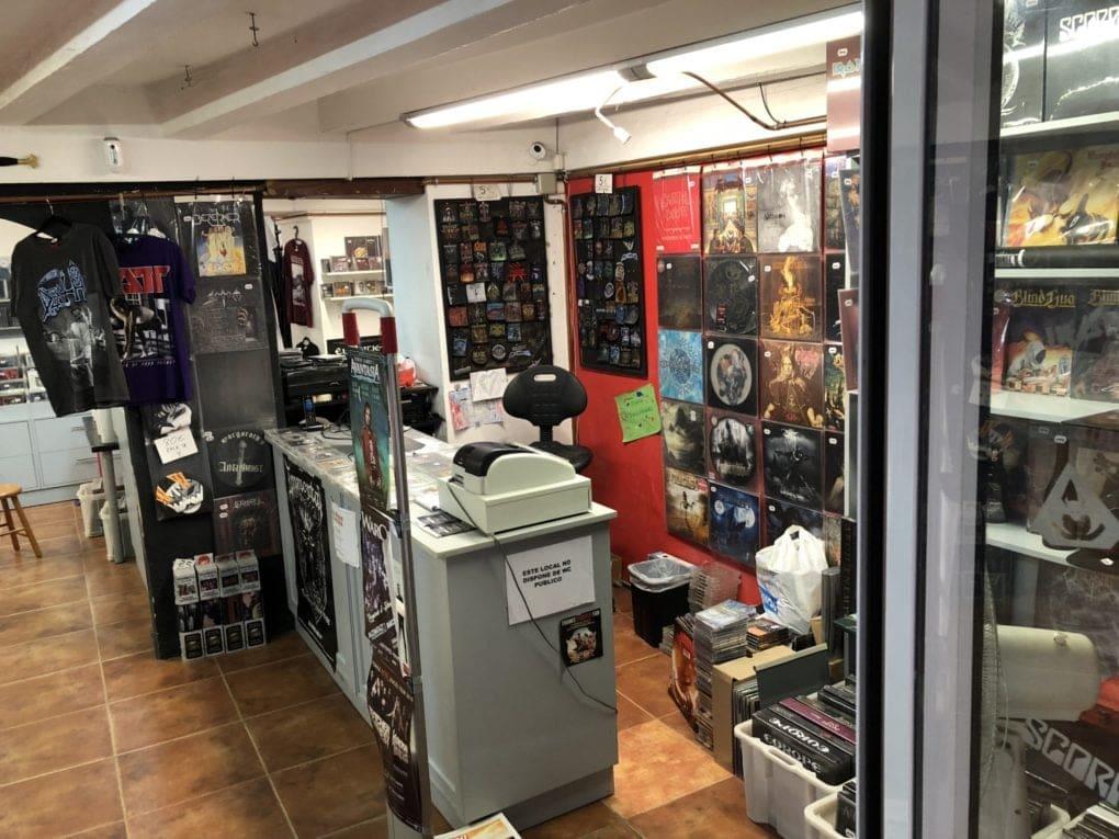 Pentagram Music Store Barceloan