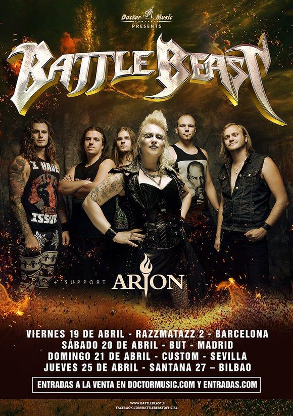 Battle Beast España 2019
