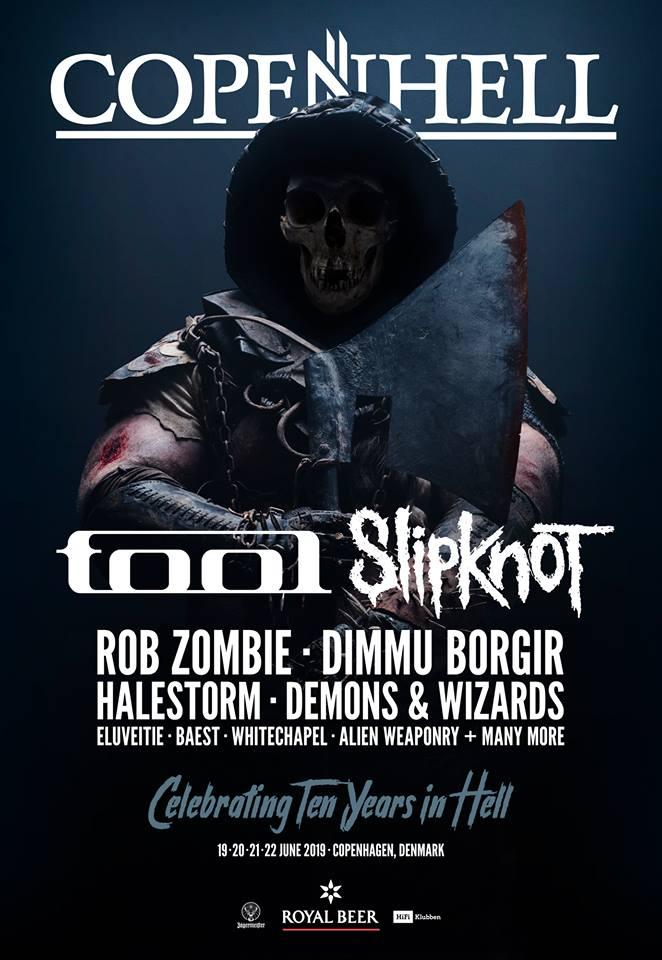 Copenhell Slipknot Tool