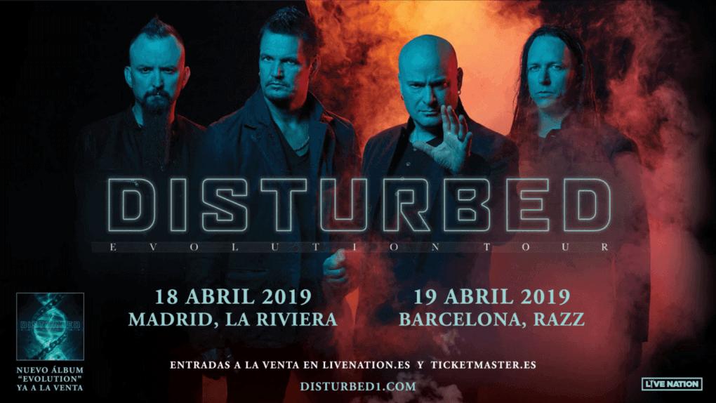 Disturbed España 2019