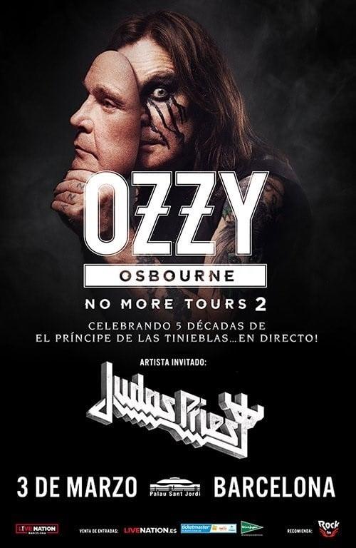 Ozzy Osbourne Judas Priest Barcelona 2019