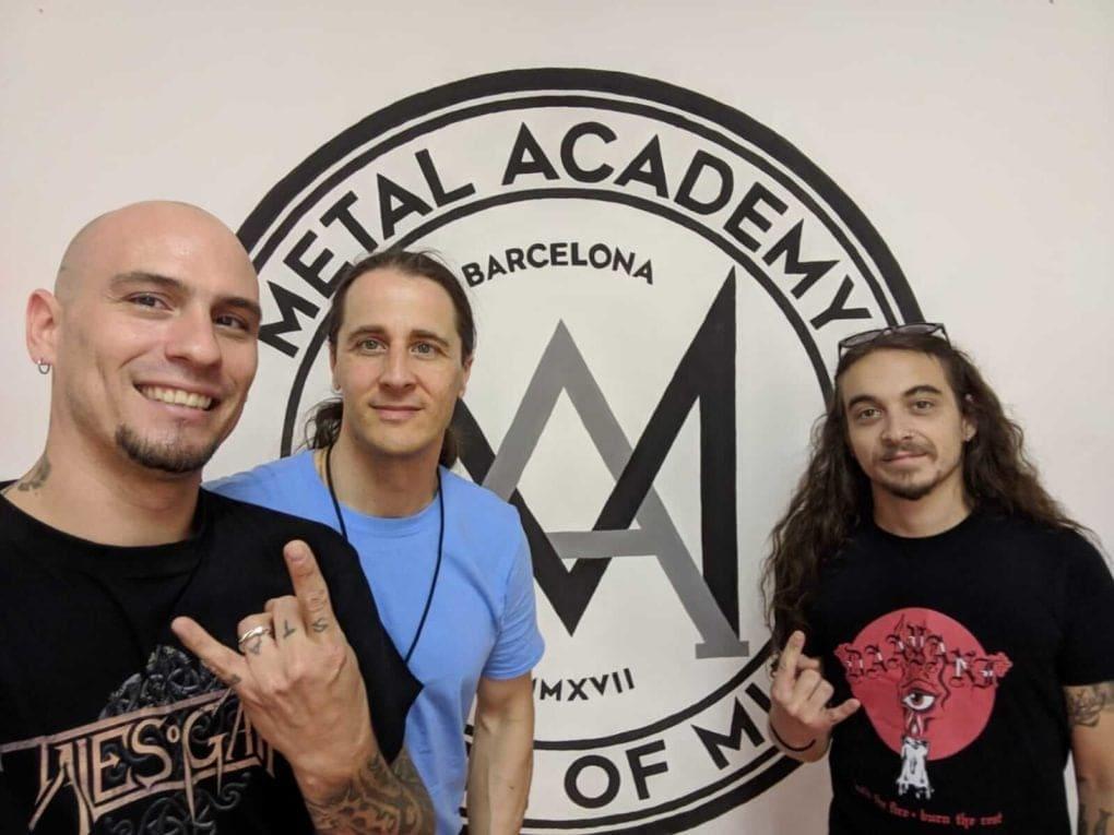 Riot V Metal Academy Barcelona