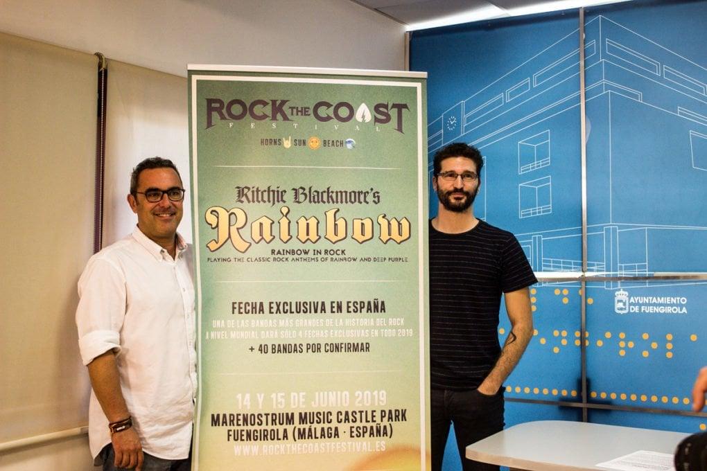Rueda de prensa Rock The Coast 2019
