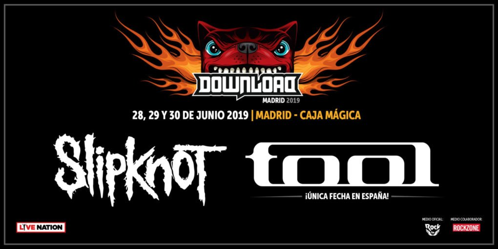 Slipknot Tool Download Madrid 2019