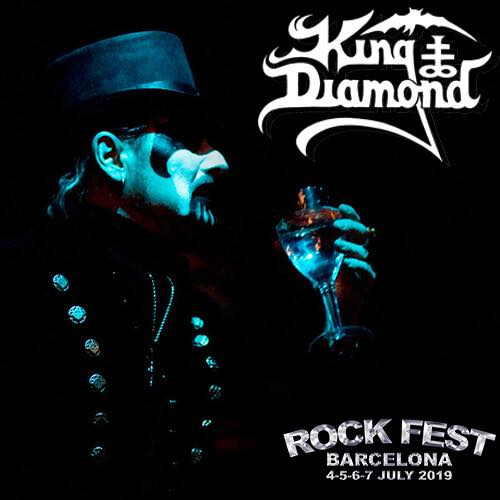 King Diamond Rock Fest Barcelona 2018