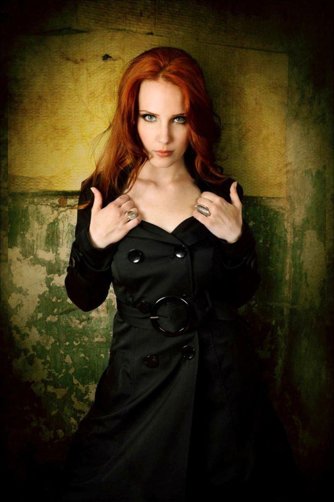 Simone Simons tías buenas rock