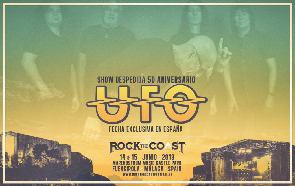 UFO Rock The Coast 2019