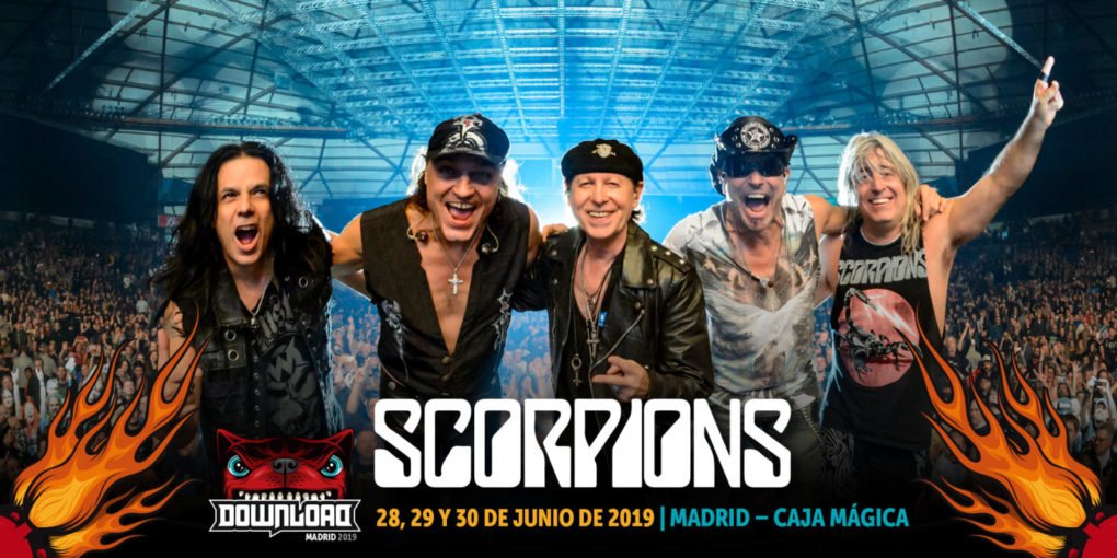Scorpions Download Madrid 2019