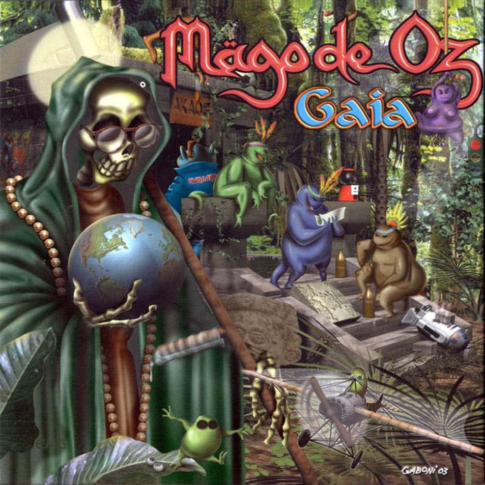 Mägo de Oz Gaia portada