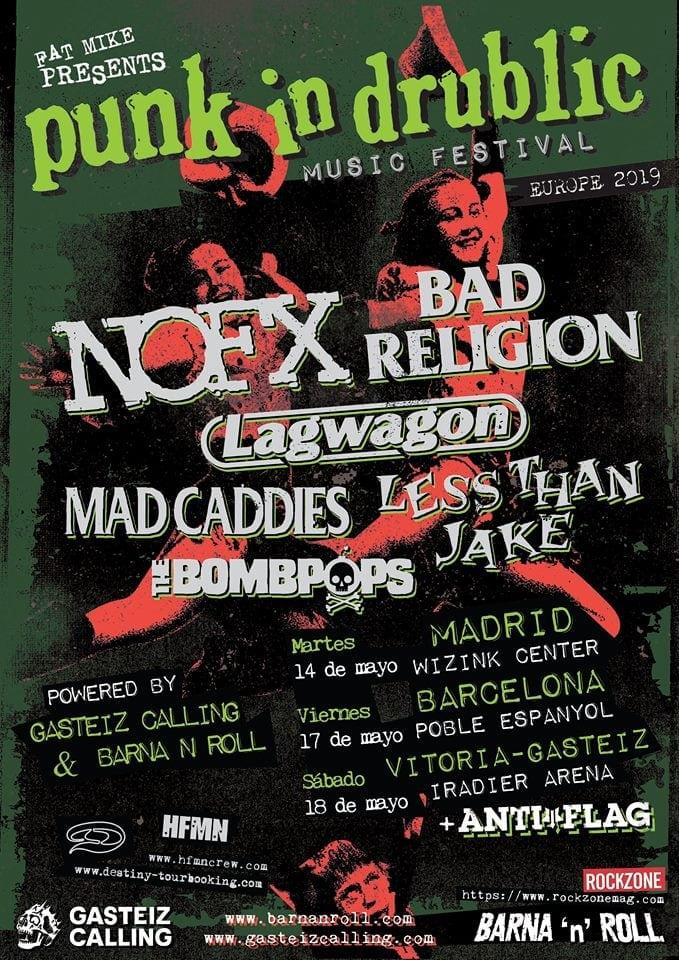 Punk In Drublic Fest 2019 España